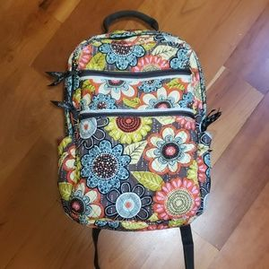 Vera Bradley Fabric Laptop Backpack